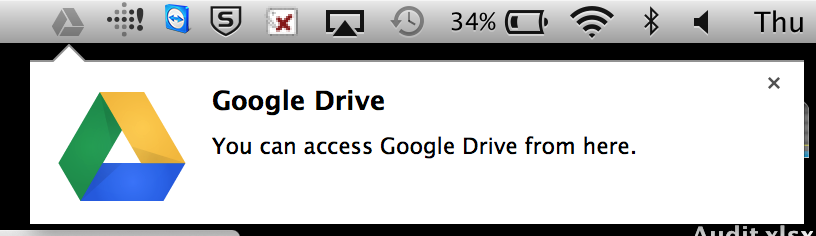 how to force sync google drive mac