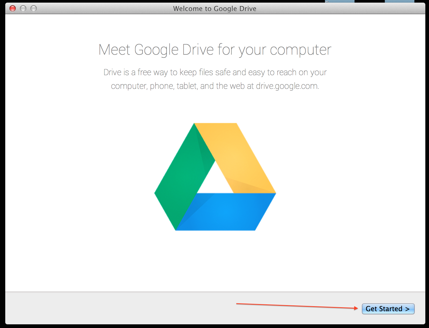 how to sync google drive on windows 7