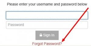 Reset Password Parent Portal